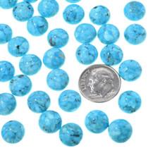 Round Sleeping Beauty Turquoise Cabochons 33424