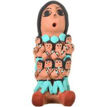 Vintage Navajo Storyteller Pottery 33679