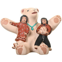Hopi Storyteller Pottery 33682