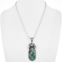Native American Turquoise Pendant 33685