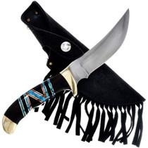 Vintage Navajo Turquoise Knife 33685