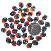 Southwest Inlay Mixed Gemstone Cabochons 33426