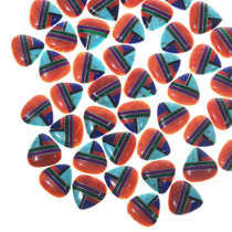 Inlay Cabochons Coral Turquoise Mixed Gemstones 33428