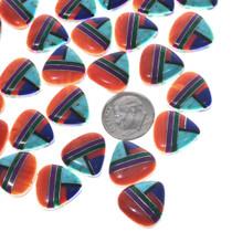 Coral Mosaic Tile Cabochons 33428