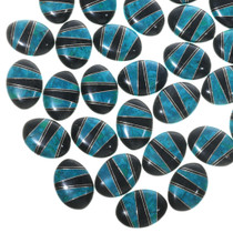Turquoise Jet Cabochons Jewelry Making Supplies 33431