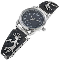 Sterling Silver Kokopelli Watch 33692