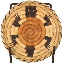 Vintage Papago Tribe Turtle Basket 33696