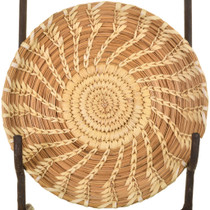 Small Vintage Papago Tray Basket 33698