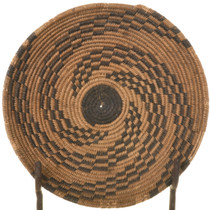 Vintage Apache Indian Basket 33801