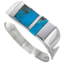 Navajo Mens Turquoise Ring 33815