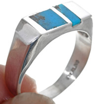 Turquoise Sterling Silver Ring 33815