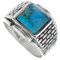 Arizona Turquoise Mens Ring 33816