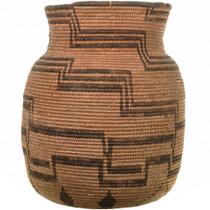 Vintage Western Apache Indian Coiled Jar 33660