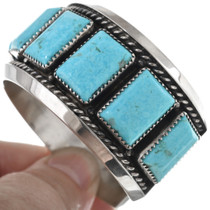 Native American Turquoise Cuff Bracelet 33823