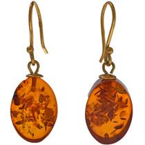 Amber French Hook Earrings 33827