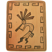 Vintage Hopi Kokopelli Pottery Kachina 33833