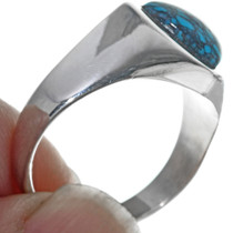 Sterling Silver Navajo Turquoise Ring 33839