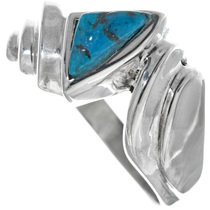 Navajo Turquoise Mens Ring 33842