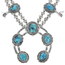 Native American Squash Blossom Necklace 33847