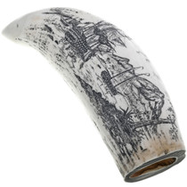 English Naval Scrimshaw Artwork 33849