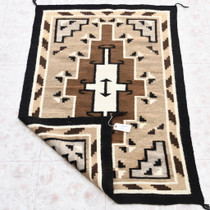Authentic Homespun Navajo Rug Weaving 33863