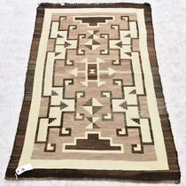Antique Crystal Navajo Wool Rug 33867