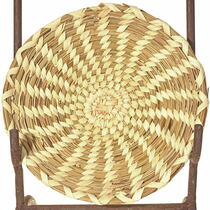 Vintage Papago Indian Basket Tray 33868