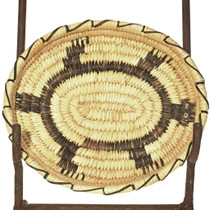 Vintage Papago Turtle Basket 33869