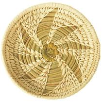 Vintage Papago Indian Swirl Basket 33871