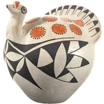 Vintage Acoma Turkey Pottery 33874
