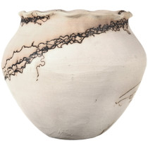 Traditional Southwest Horsehair Pottery 33875