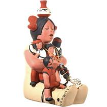 Acoma Pueblo Storyteller Doll Pottery 33880