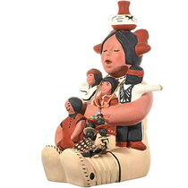 Vintage Acoma Storyteller Pottery 33880
