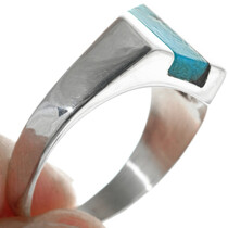 Sterling Silver Turquoise Ring 33882