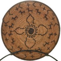 Antique Apache Indian Figural Basket Bowl 33886