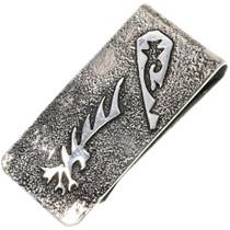 Navajo Silver Eagle Money Clip 33889