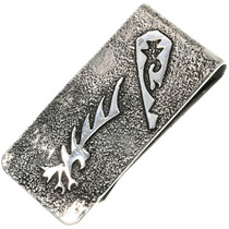 Navajo Silver Eagle Money Clip 33889