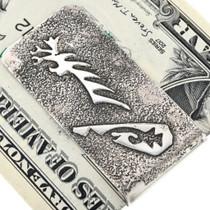 Sterling Silver Navajo Money Clip 33889
