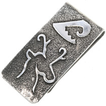 Navajo Silver Money Clip 33890