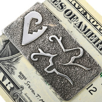 Hand Made Deer Design Money Clip 33890