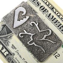 Hand Made Deer Design Money Clip 33890