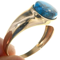Genuine Bisbee Turquoise Ring 33900