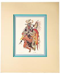 Native American Painting Woody Crumbo Print 33901