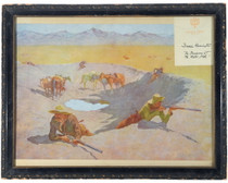 Vintage Frederic Remington Framed Print 33909