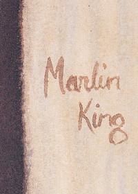 Amish Boy Kissing Horse Marlin King Print 33913