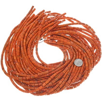 Red Coral Bead Strand 33438