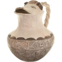 Vintage Acoma Cow Effigy Pitcher 33916
