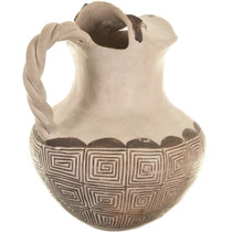 Hand Made Acoma Tribe Pottery 33916