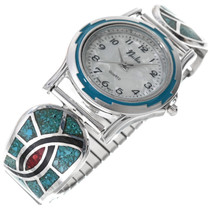 Turquoise Mens Watch 33918