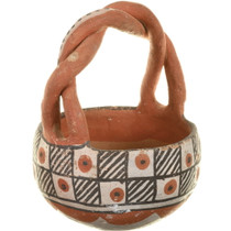 Small Isleta Basket Pottery 33924